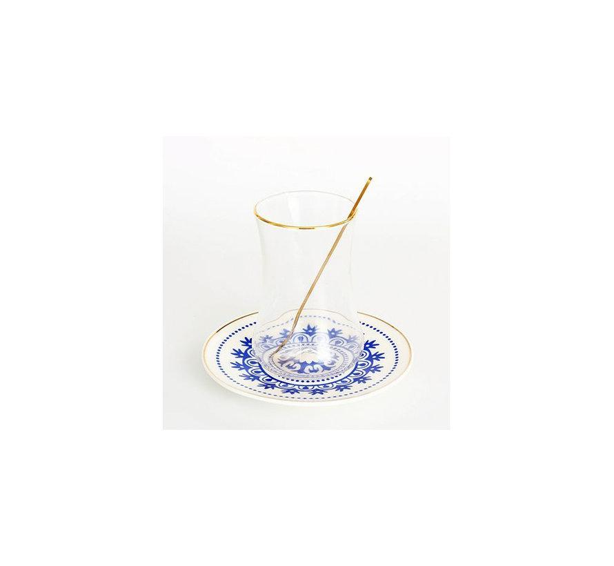 Bricard thee-espresso set - Marseille- 24-delig