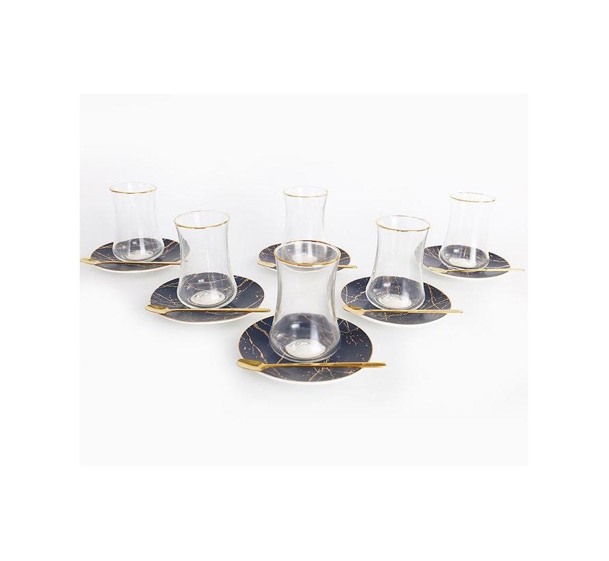 Bricard thee-espresso set - Monaco - 24-delig