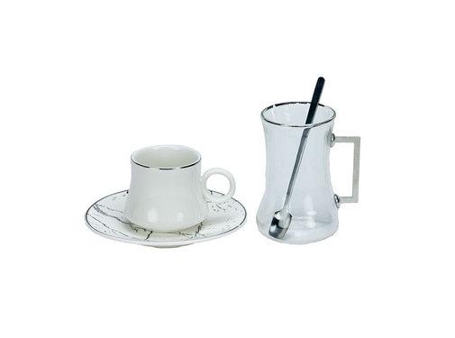 Bricard Bricard Plus thee-espresso set - Athens - 24-delig