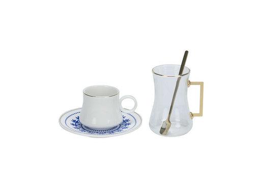 Bricard Bricard Plus thee-espresso set - Marseille - 24-delig