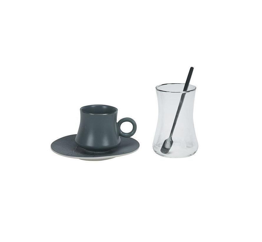 Bricard thee-espresso set - Badalona - 24-delig