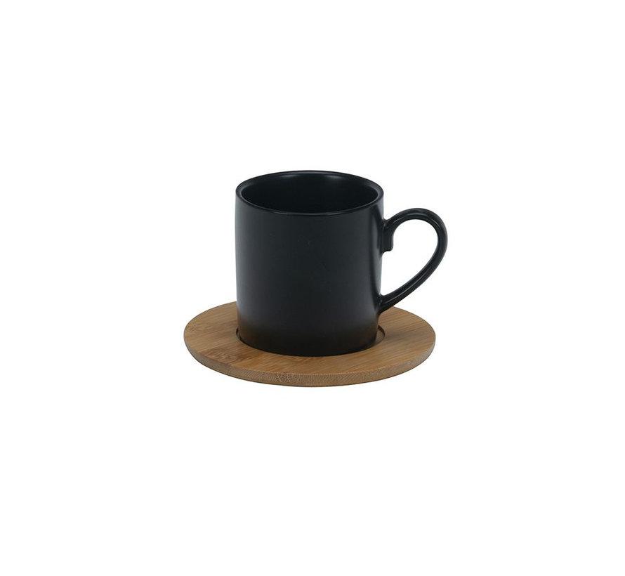 Bricard mokkenset klein- Geneva -  Black 25-delig
