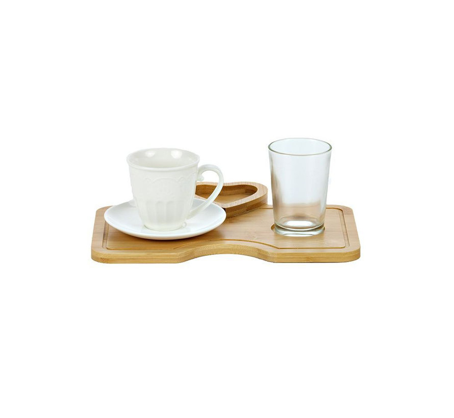 Bricard espresso set - Palma  - 1-persoons