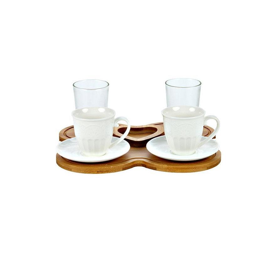 Bricard espresso set - Palma  - 2-persoons