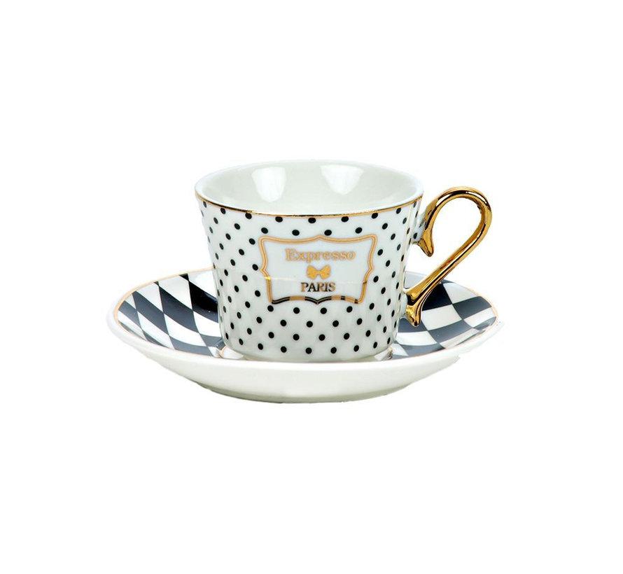 Bricard espresso set - Marsala - 12-delig