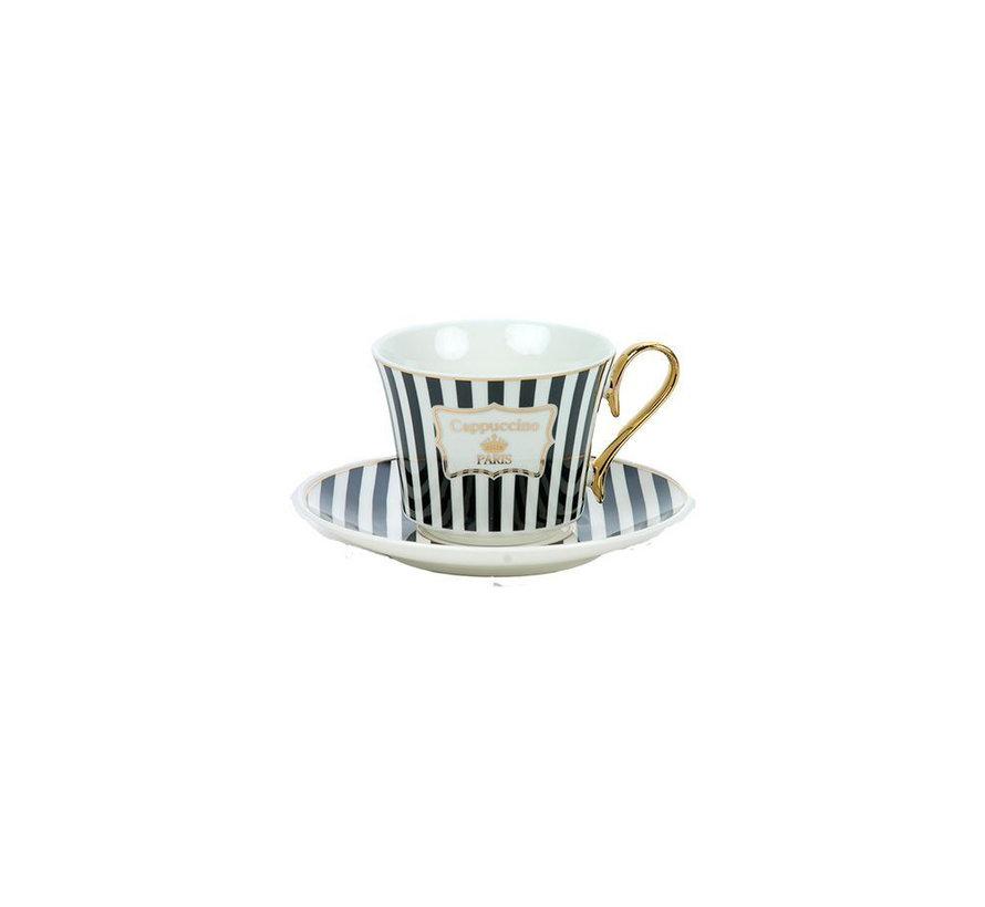 Bricard espresso set - Parisien -  12-delig