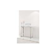 Vivente Bari consoletafel - Aerenia - Zilver/Marmer