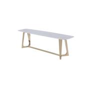 Vivente Bari TV tafel - Aerenia - Goud/Marmer
