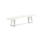 Vivente Bari TV tafel - Aerenia - Zilver/Marmer