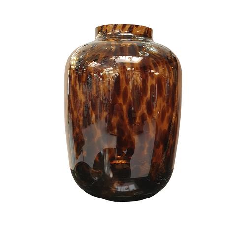 Eric Kuster Style Cheetah vaas - Goud - Art