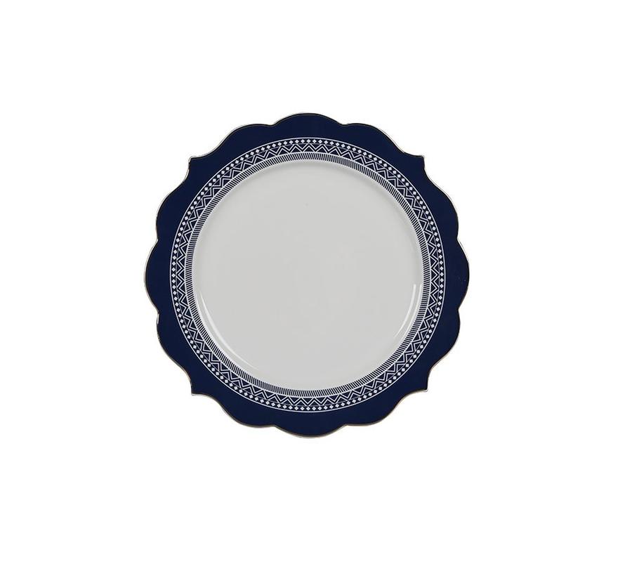 Bricard Dinner Set- Bron - Blauw 25-delig