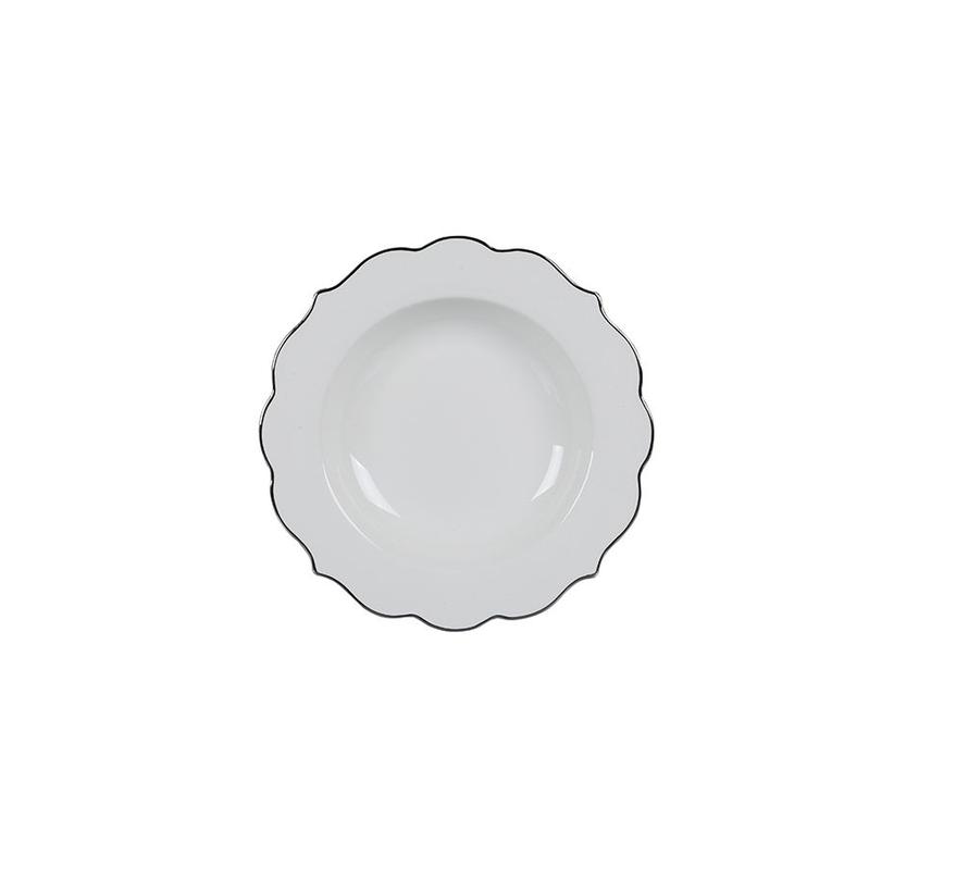 Bricard Dinner Set- Bron - Zilver 25-delig