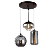 Erik Kuster Style Hanglamp - Remix 3 (Smoking Glass) - Erik - Kuster - Style