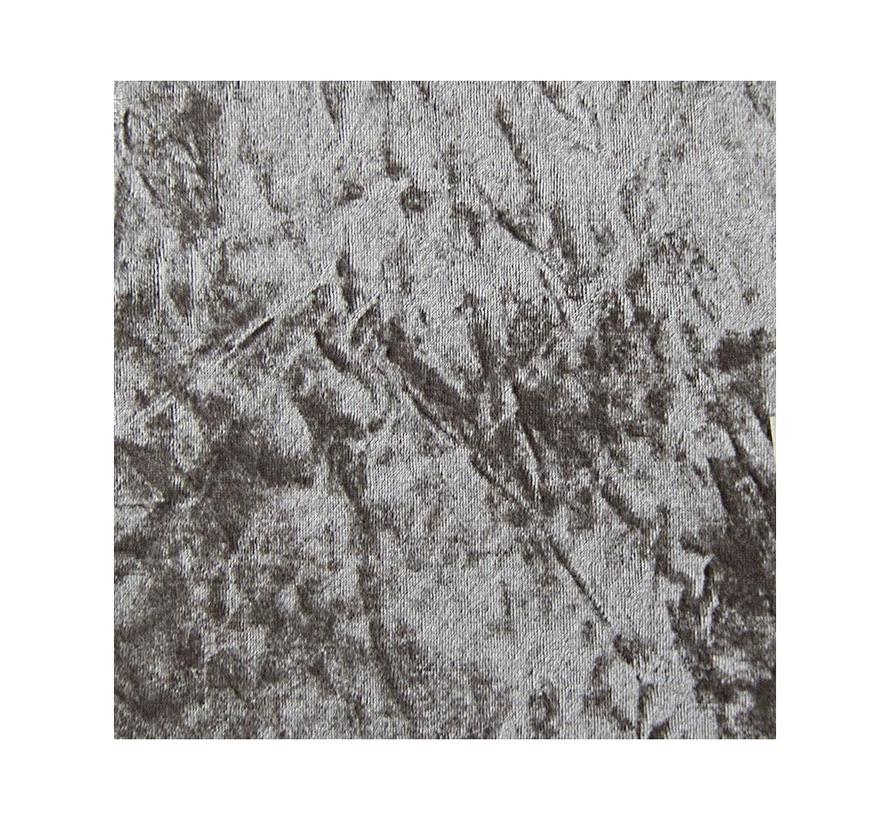 Milano Zitbankje - Stof - Zilver