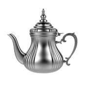 L&M Collections Theepot - Andalusia - Zilver