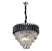 Eric Kuster Stijl Hanglamp Pearl Chroom - 60ø