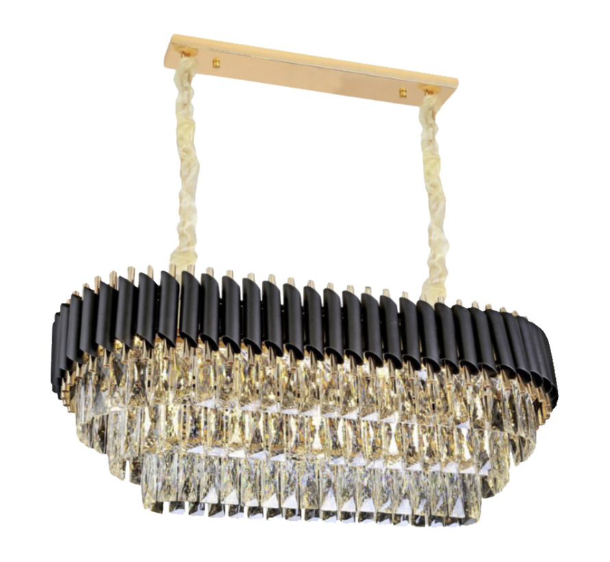 Hanglamp Pearl Chroom - 100 cm