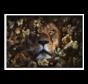 Lion King  Glasschilderij 160x110