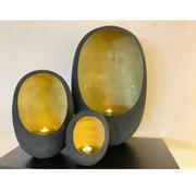 L&M Collections Marrakech T-lights - Arabian Nights - Black/Gold