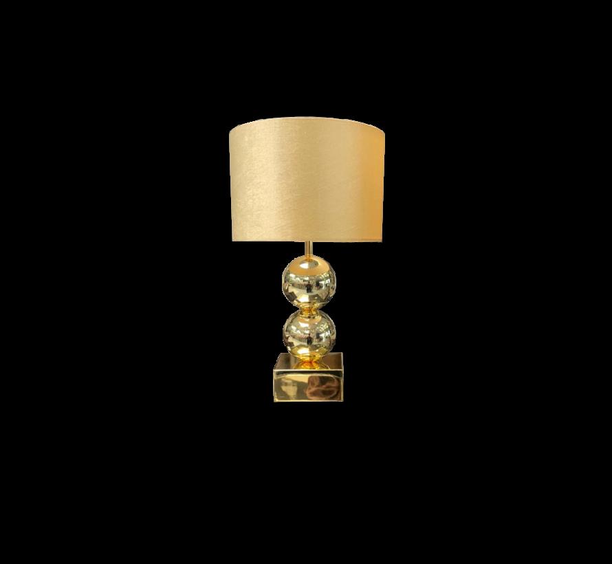 Bollamp Erik Kuster Style Goud - 2 Bollen