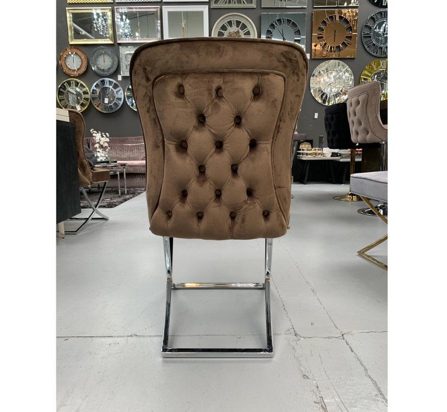 Rixos Velvet Style Stoel - Brown