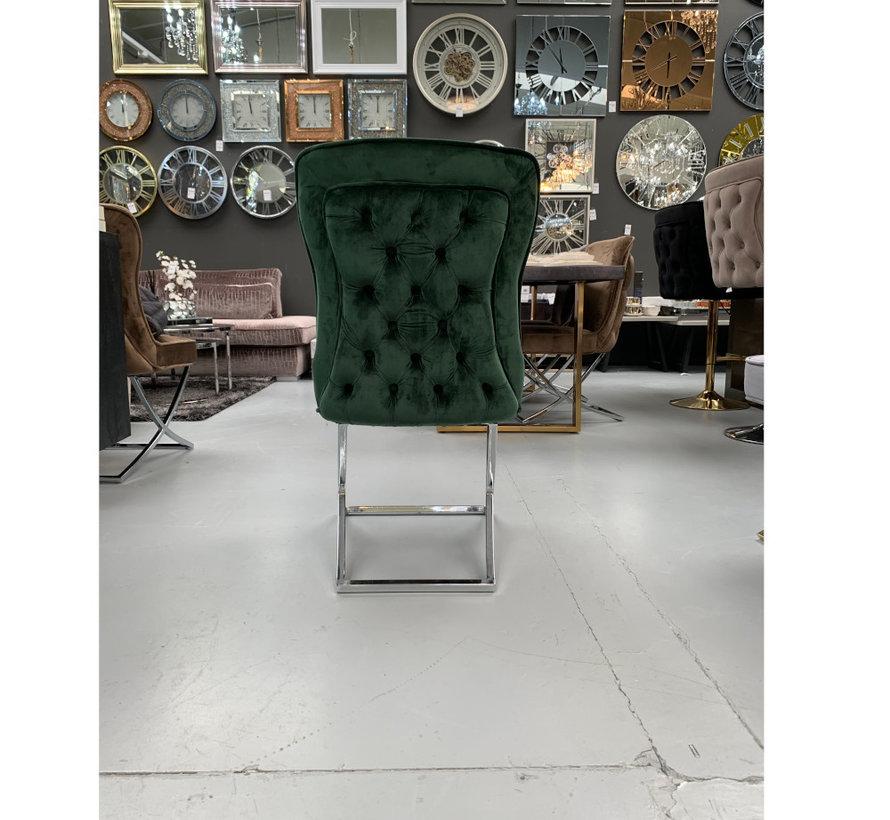 Rixos Velvet Style Stoel - Green