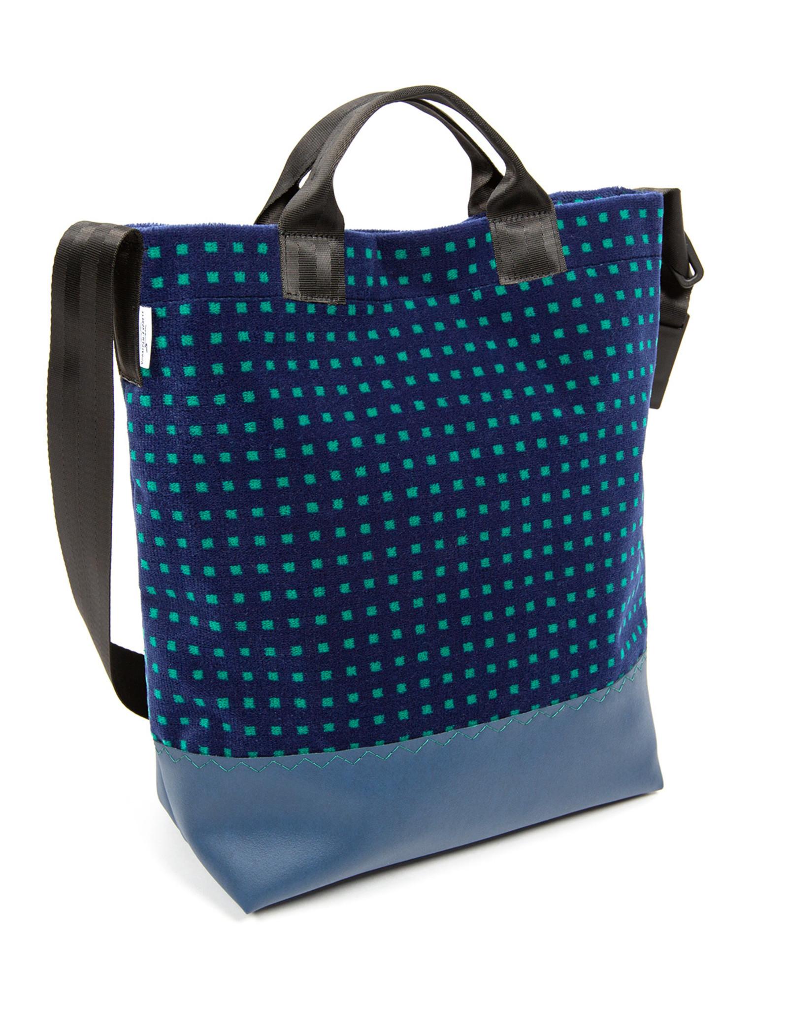 Voralpen-Express-Stofftasche grün / blau
