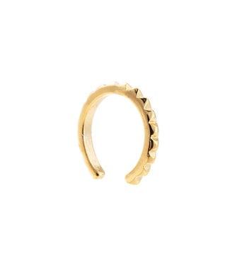 Lola minimalistic earcuff - gold plated