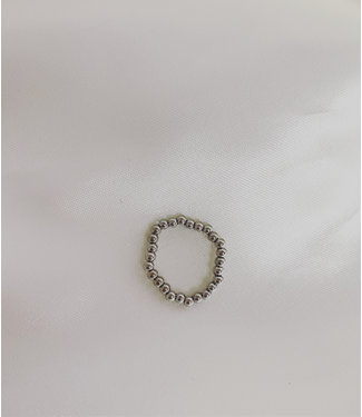 Elastic Ring Silver - Stainless Steel
