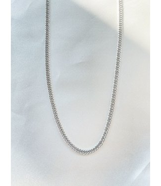 'Ola' Necklace Silver - Stainless Steel