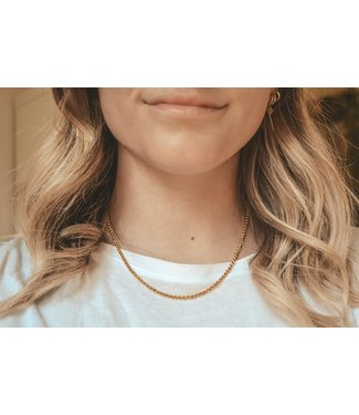'Luna' Necklace Gold - Stainless Steel
