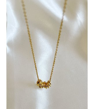 'Bali' Necklace Gold - Stainless Steel