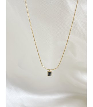 'Karma' Necklce Gold - Stainless Steel