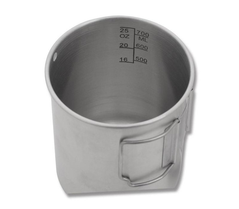 Pathfinder RVS Beker met deksel 700 ml