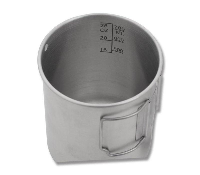 Pathfinder School Stainless Steel 25 oz Cup & Lid Set