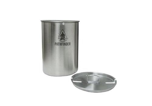 Pathfinder School Pathfinder RVS Beker met deksel 1300 ml