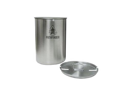 Pathfinder School Pathfinder School Stainless Steel 48oz Nesting Cup And Lid Set