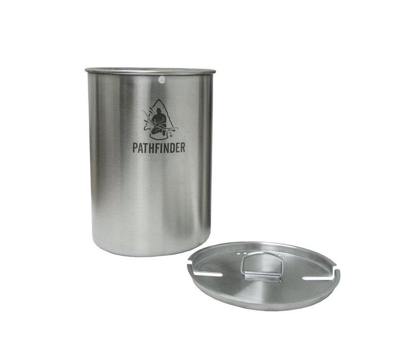 Pathfinder School RVS Beker met deksel 1300 ml