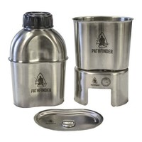 Pathfinder School stainless steel Canteen Cooking Set