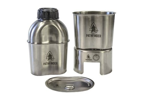 Pathfinder School Pathfinder School stainless steel Canteen Cooking Set