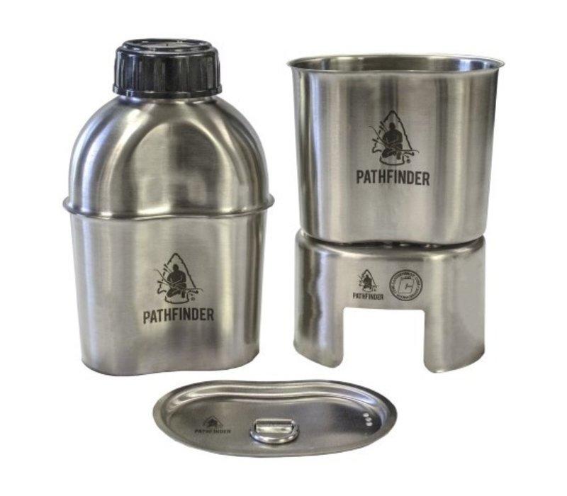 Pathfinder RVS Canteen Kook Set