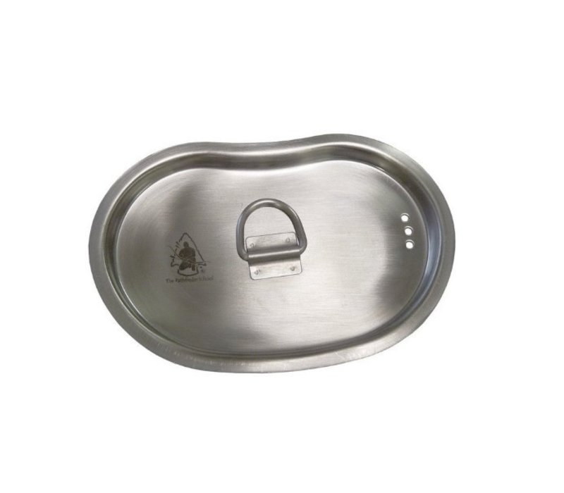 Pathfinder School stainless steel lid for 700 ml Canteen (only the lid)