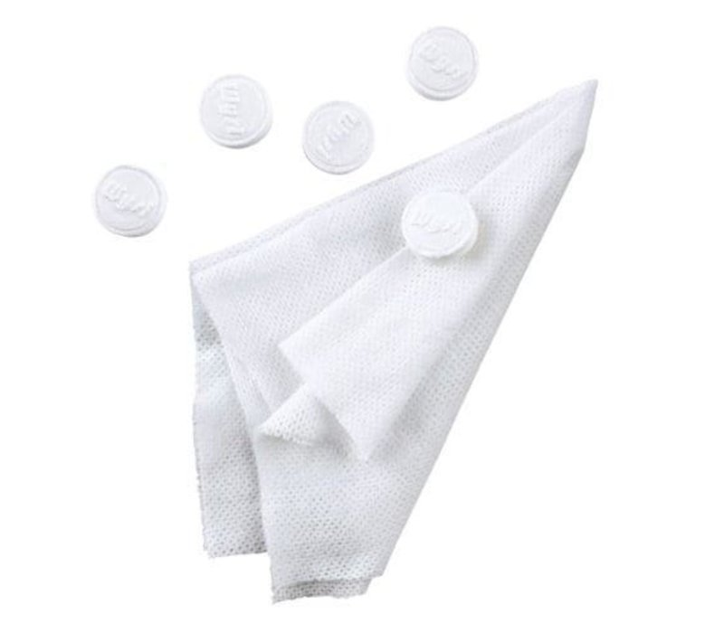 Wysi Wipes - When you need a clean cloth,  add a splash of water
