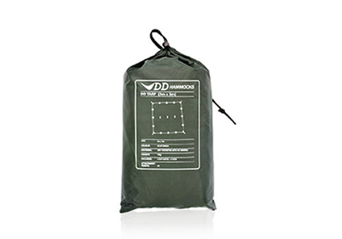 DD Hammocks DD Hammocks Tarp Olive Green, Coyote Brown of Camo 3x3