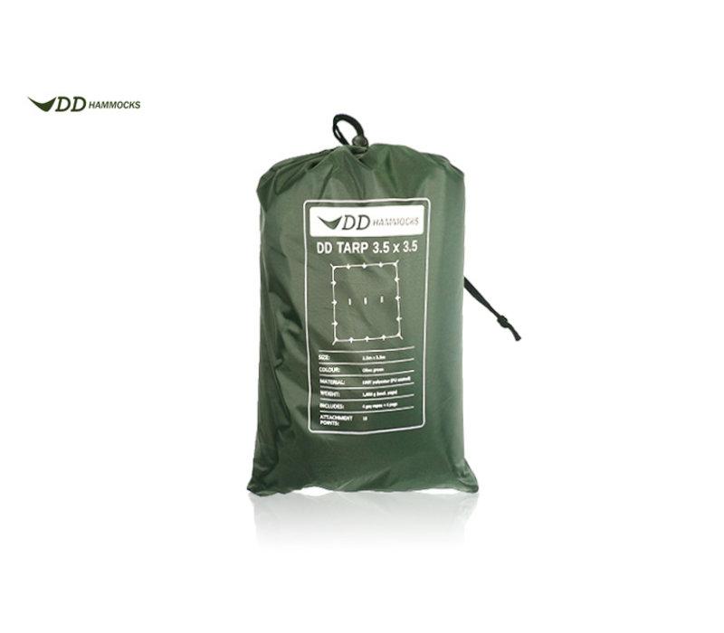 DD Hammocks Tarp 3,5x3,5 Olive green