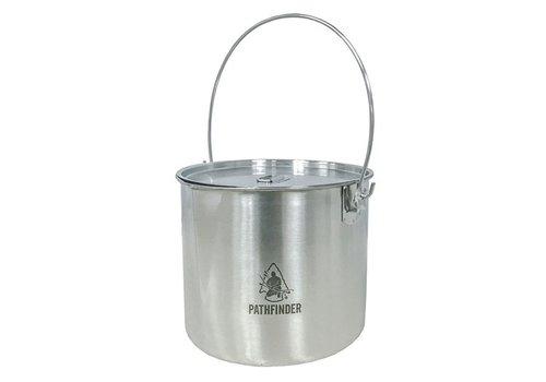 Pathfinder School Pathfinder School RVS Bushpot met deksel (3.5 L)