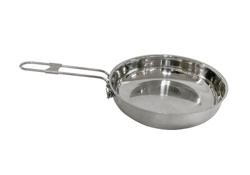 Pathfinder School Pathfinder School stainless steel frying pan with lid