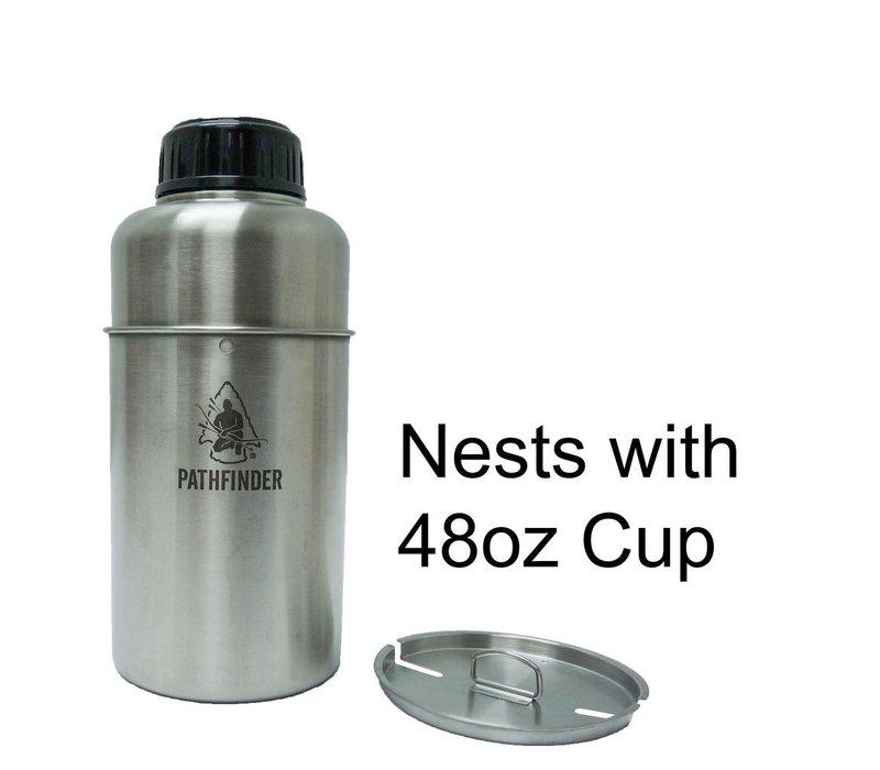 Pathfinder 64oz Pathfinder Stainless Steel Wide-mouth Bottle