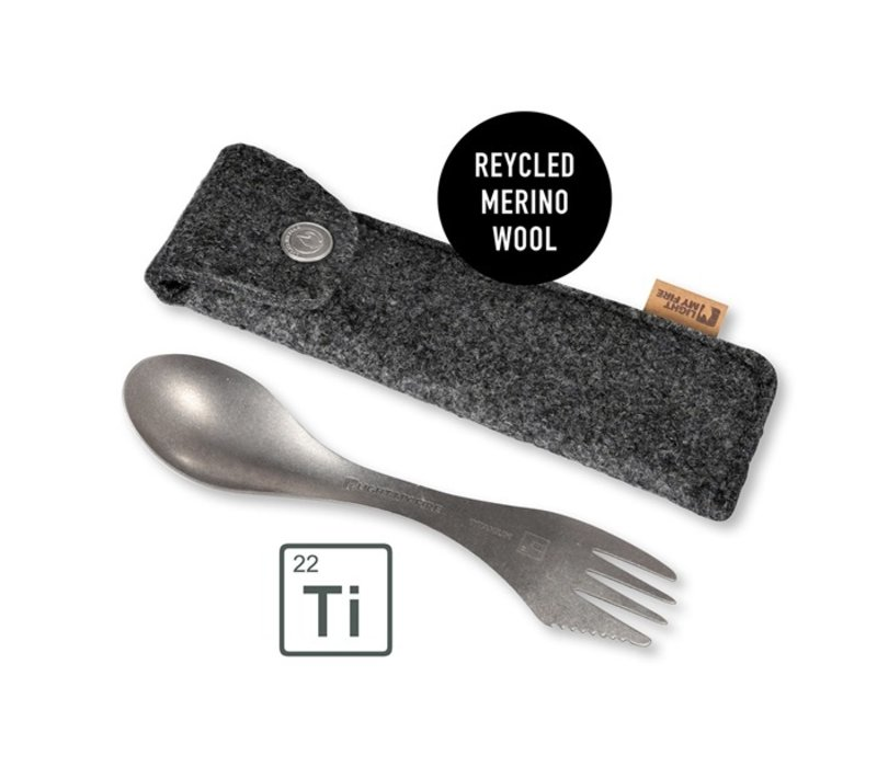 Light my Fire Eco Spork Kit Titanium