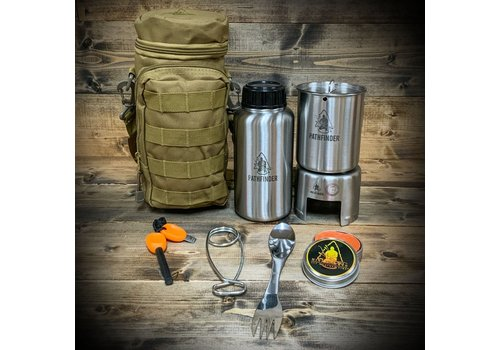 Pathfinder School Pathfinder School Stainless Steel Bottle Cooking Kit